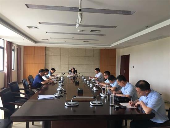 大悟法院党组书记刘杨萍同志集体约谈班子成...